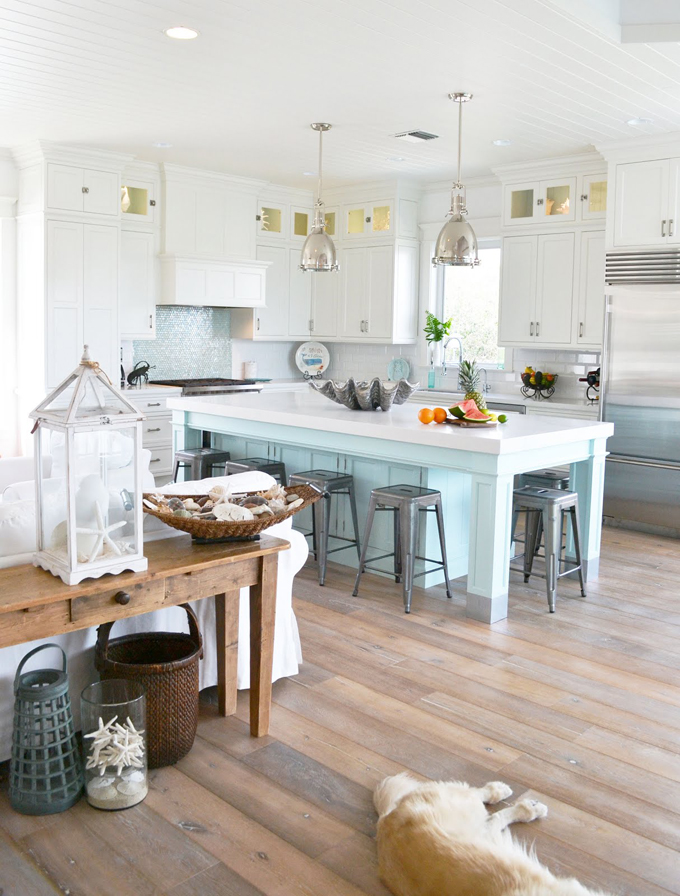 coastal themed kitchen guest liz of home house of turquoise 2291