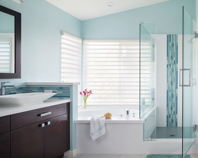 Good Thanks to interior designer Gail E Jamentz of Pasadena based Soul Interiors Design I am back to being obsessed with remodeling our master bath uthere