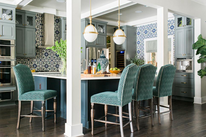 HGTV Smart Home 48 Kitchen Dining Room House Of Turquoise Interesting Hgtv Dining Room