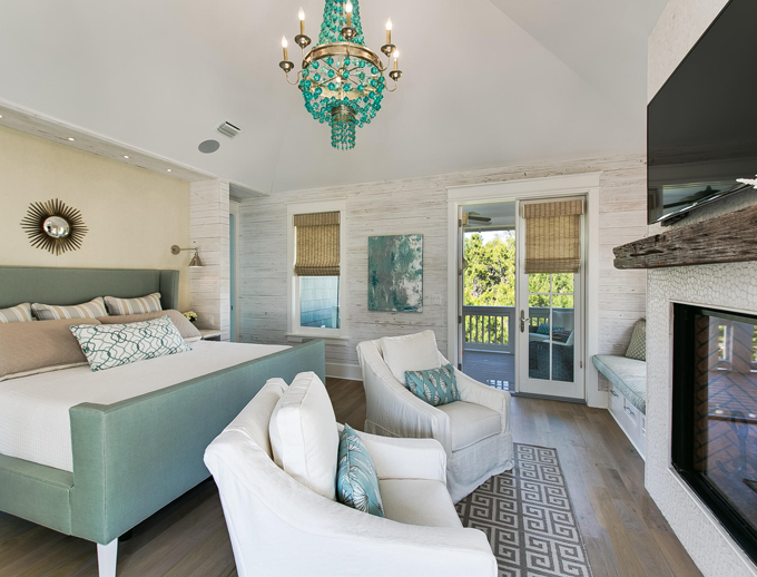 After Stumbling Across This WaterSound Florida Beach Home Designed By Architect Gregory D Jazayeri And Built Kenson Group With Interior Design