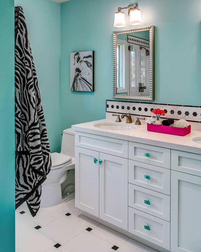 Turquoise Bathrooms Timeless And Captivating Interior: Sabrina Alfin Interiors
