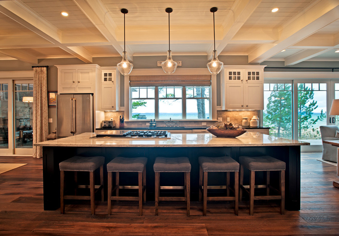 Kp designs and associates house of turquoise for Lake house kitchen designs