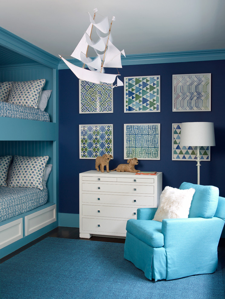 blue bunk room