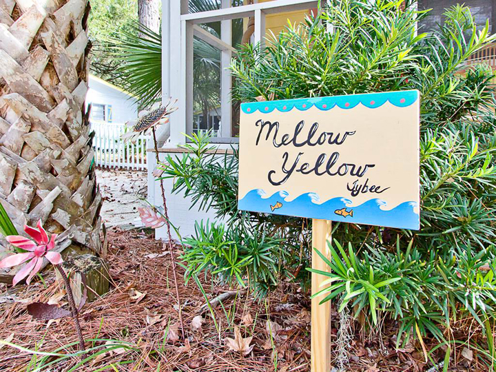 mellow yellow sign