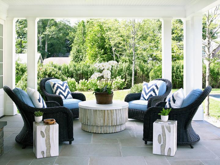 patio sitting area