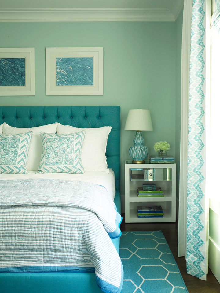 Phoebe howard house of turquoise for Bedroom ideas turquoise