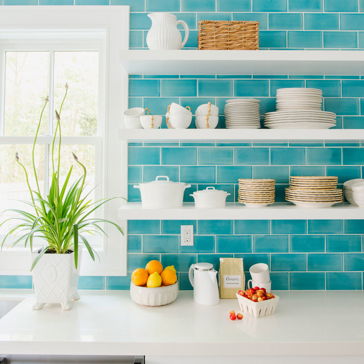 turquoise kitchen tiles 2016 coastal living magazine hamptons showhouse house of 2970