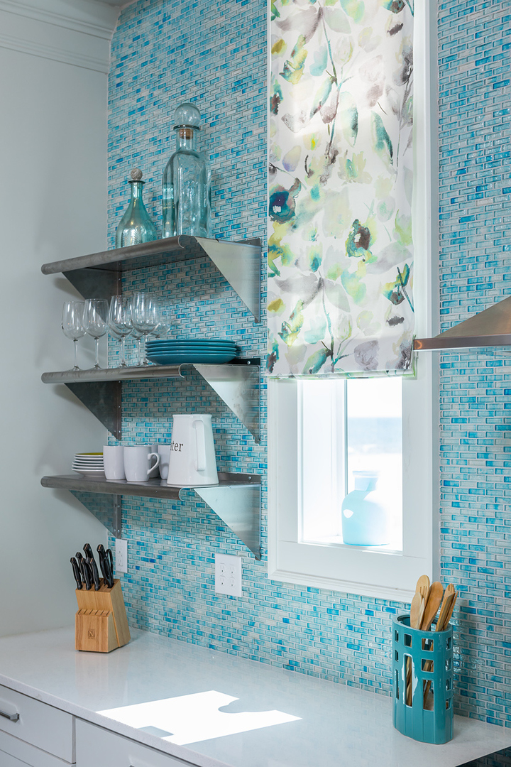 turquoise tile