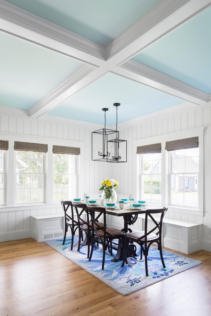 Gmt home designs house of turquoise for Beachy dining room ideas