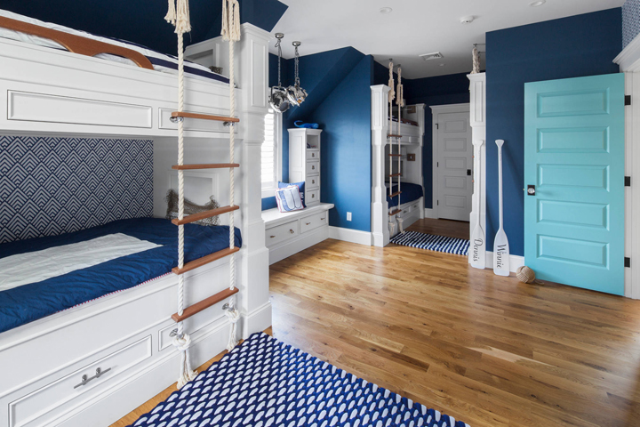 blue-bunk-room