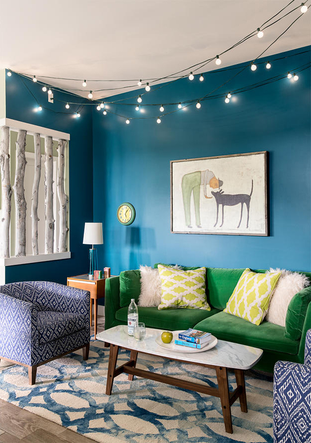 Kids Room Design Shared Colorful