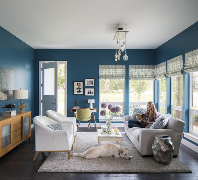 living rooms painted blue nesting home design house of turquoise 16059