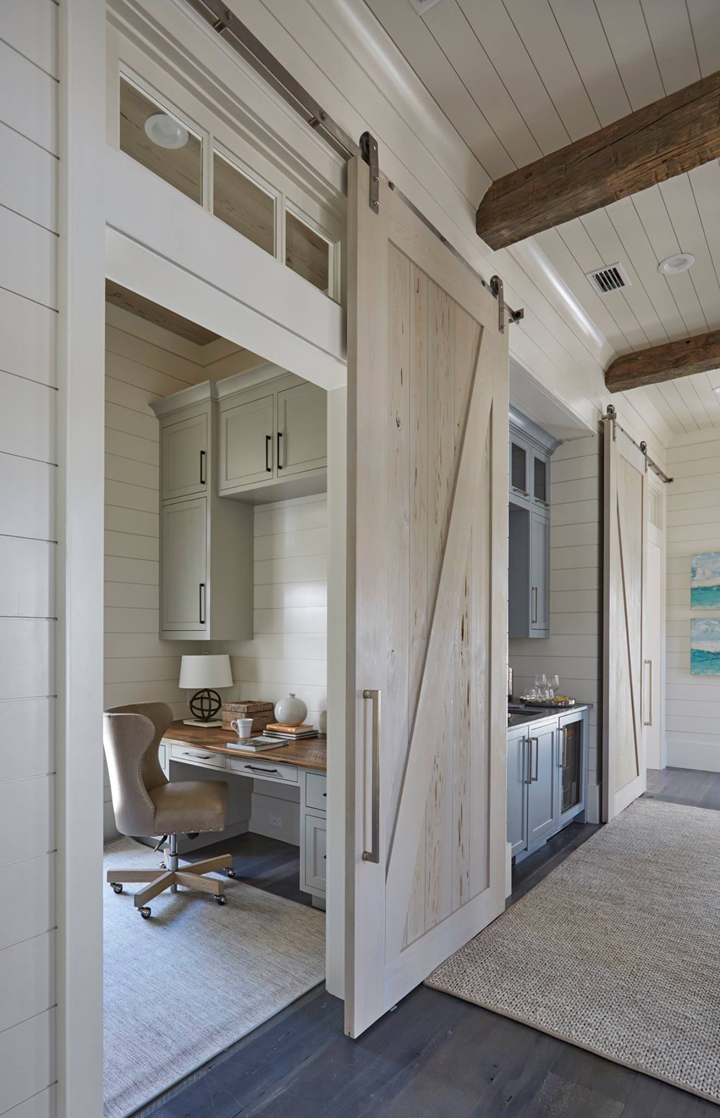 Geoff chick associates house of turquoise bloglovin for Barn doors for home office