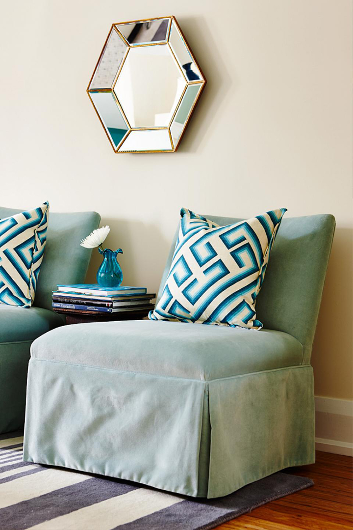 turquoise-slipper-chairs