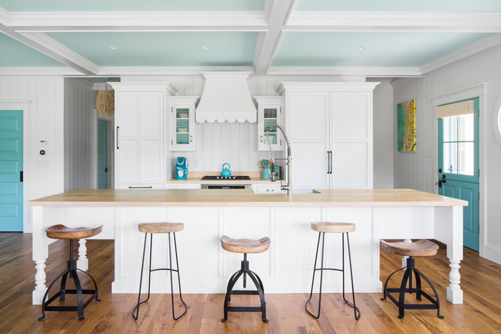 turquoise-white-kitchen