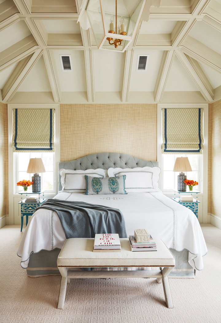 Master Bedroom Paint Colors >> Andrew Howard Interior Design | House of Turquoise