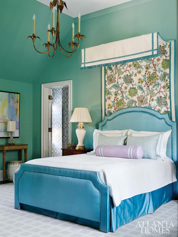 Huff dewberry house of turquoise for Turquoise bedroom decor