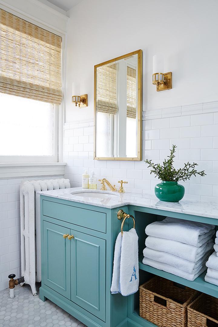 turquoise-vanity