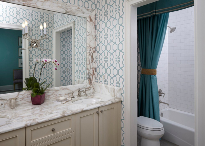 turquosie-bathroom