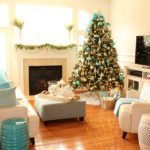 Turquoise Christmas Decor