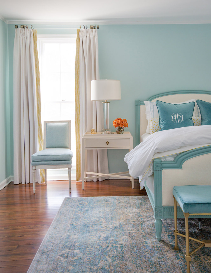 aqua colored bedrooms cannon limited interiors house of turquoise 10090
