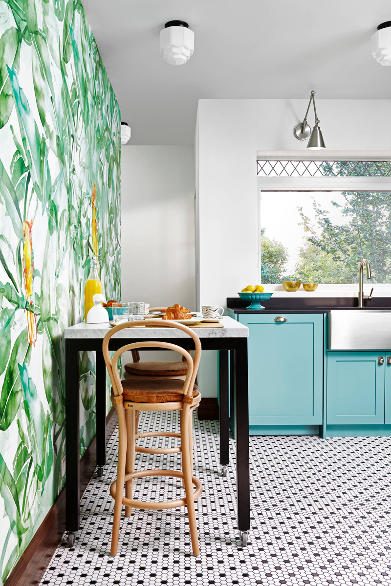 Paris Bistro Meets Art Deco In This Fabulous Kitchen By Yanic Simard The Principal Designer Of Toronto Interior Design Group And Regular Expert On Canadas