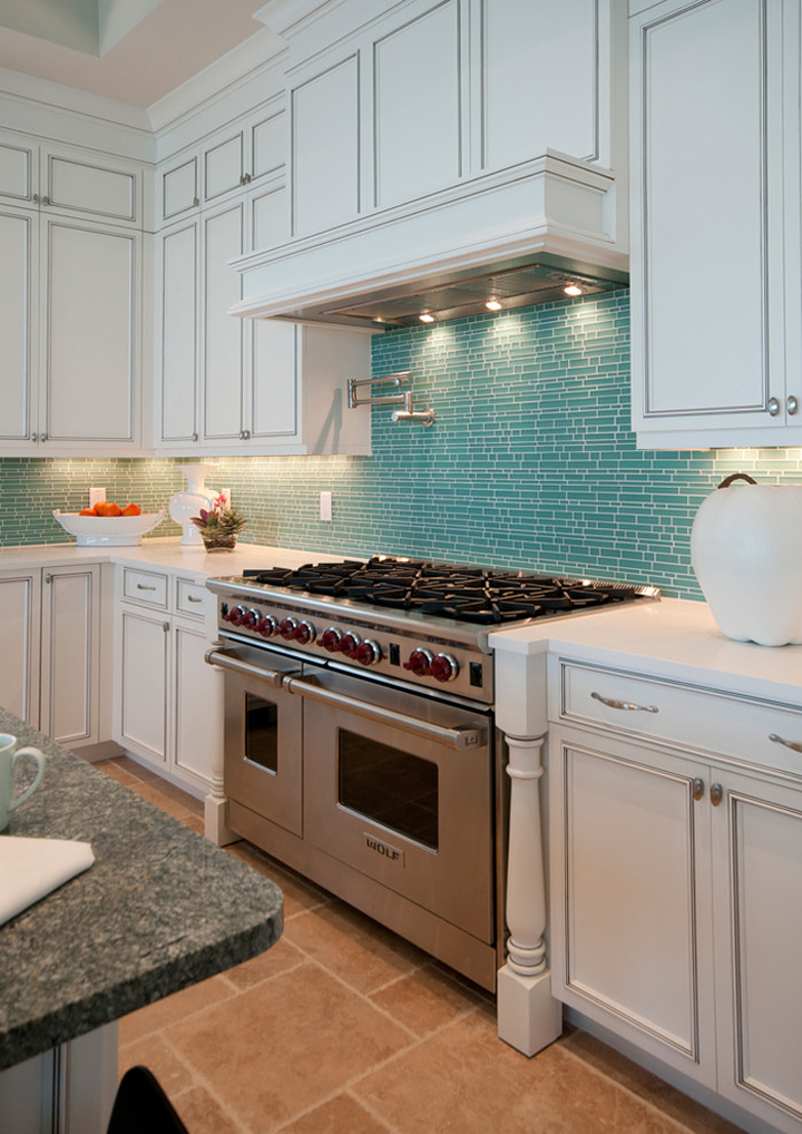 Turqoise Kitchen: Turquoise Backsplash Ideas