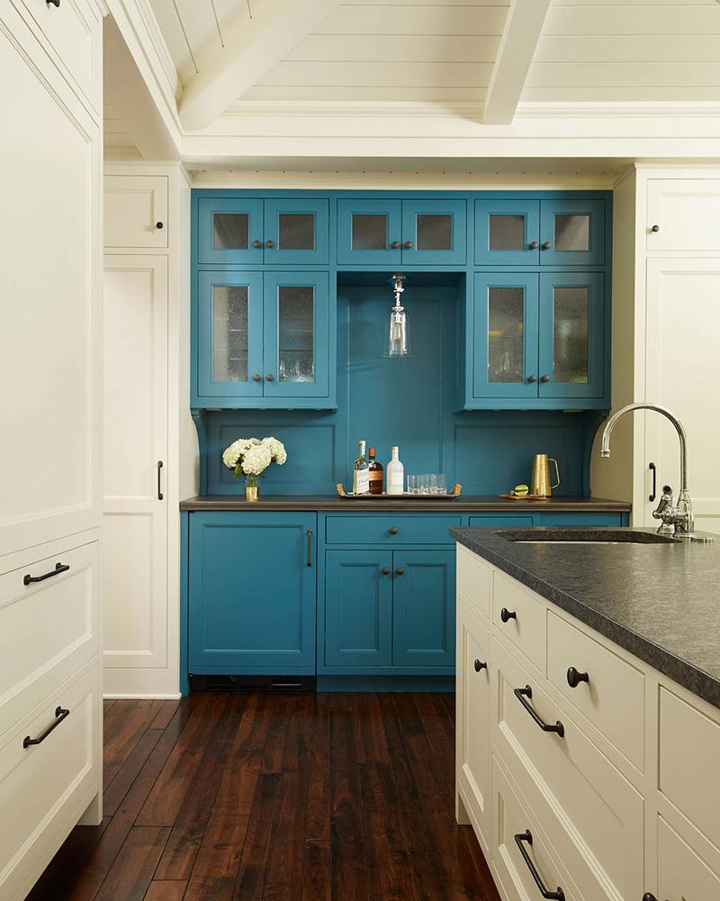 Kitchen Cabinets In Mountain Haze