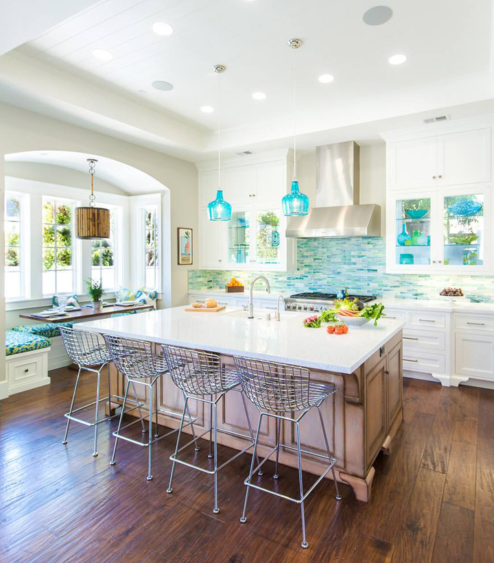 Turquoise Backsplash Ideas House of Turquoise