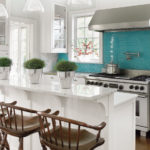 Turquoise Backsplash Ideas