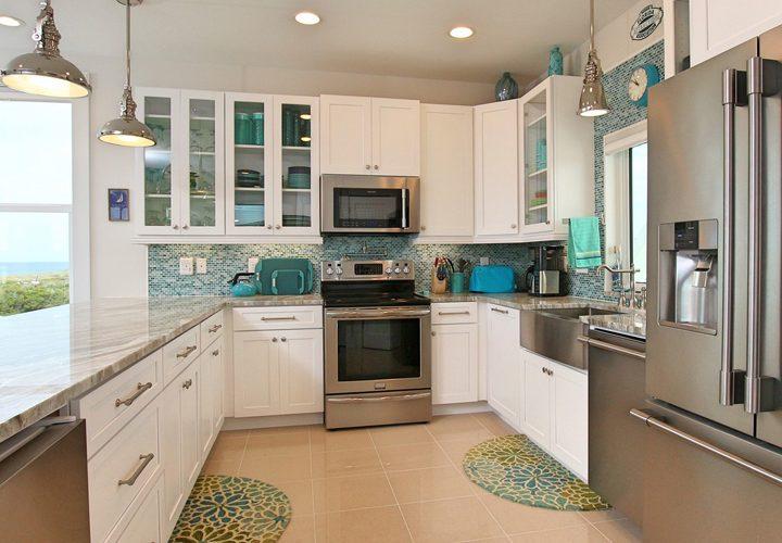 turquoise backsplash ideas house of turquoise - Turquoise Kitchen