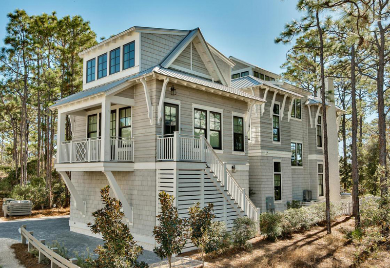 Borges brooks builders house of turquoise for Watercolor florida house plans