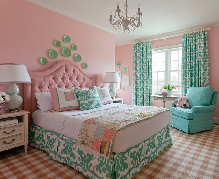 Tobi fairley interior design house of turquoise for Pretty bedroom accessories