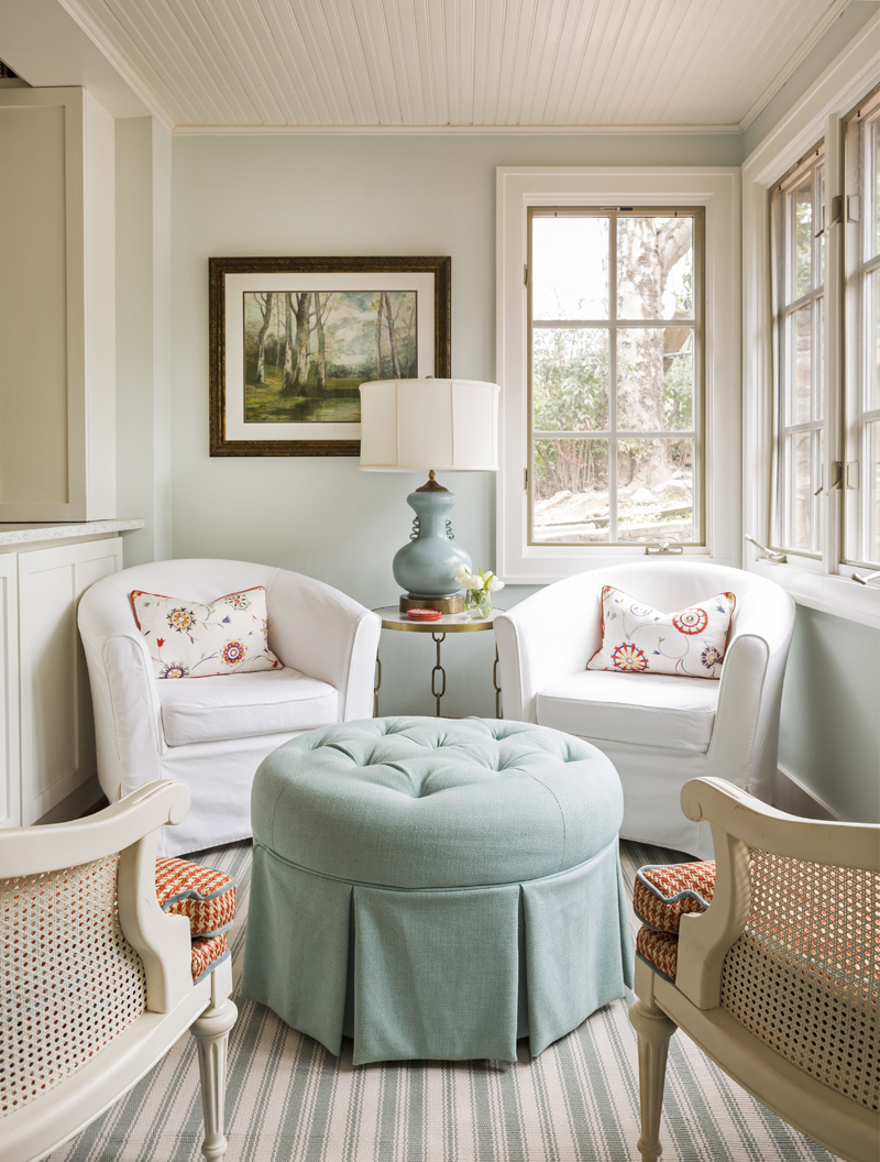 Kathryn j lemaster art design house of turquoise for Sitting dining room designs