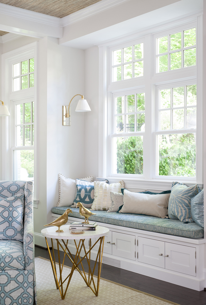 Erika bonnell interiors house of turquoise Window seat house