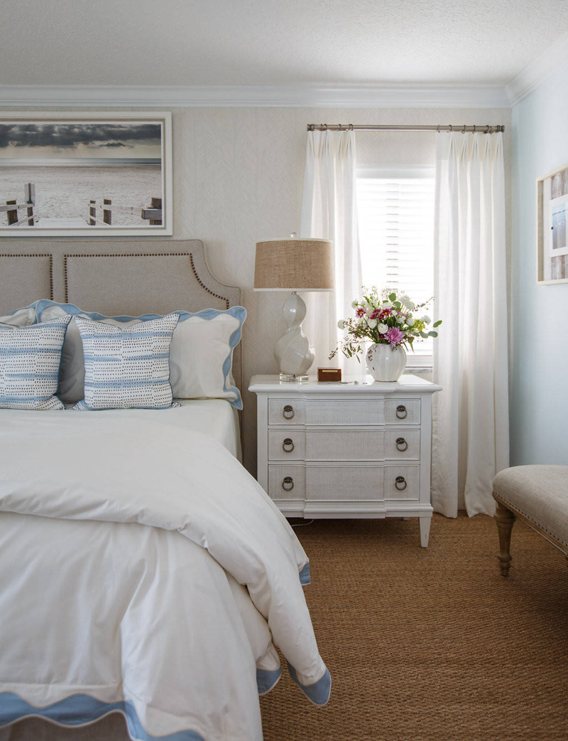 marvelous beach themed bedrooms | Amanda Webster Design | House of Turquoise