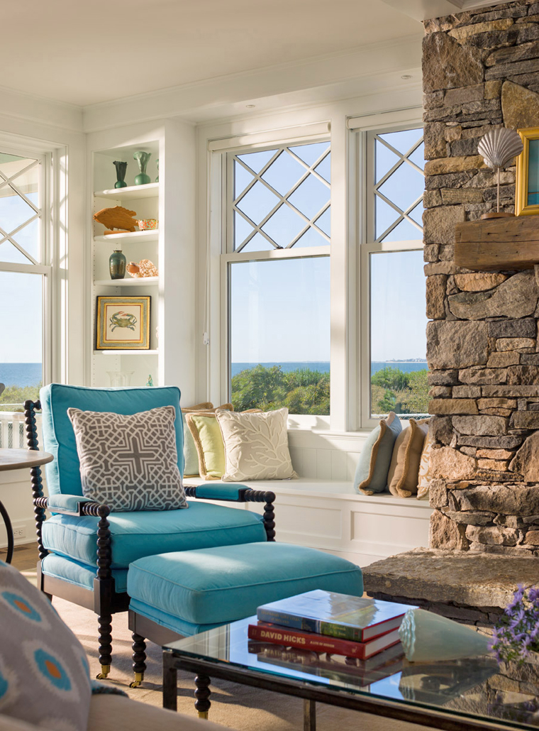 The Screened Porch With An Incredible View Of Block Island Sound Is  Out Of This World Dreamy!