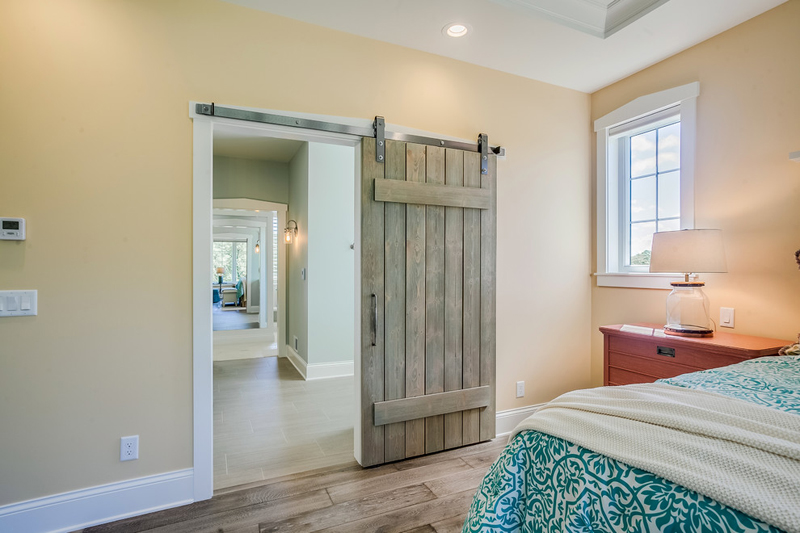The Master Bathroom And Closet Are Painted Benjamin Moore 470 Par Four Such A Serene Color