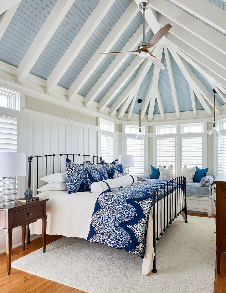 southern studio interior design house of turquoise 11807 | blue ceiling