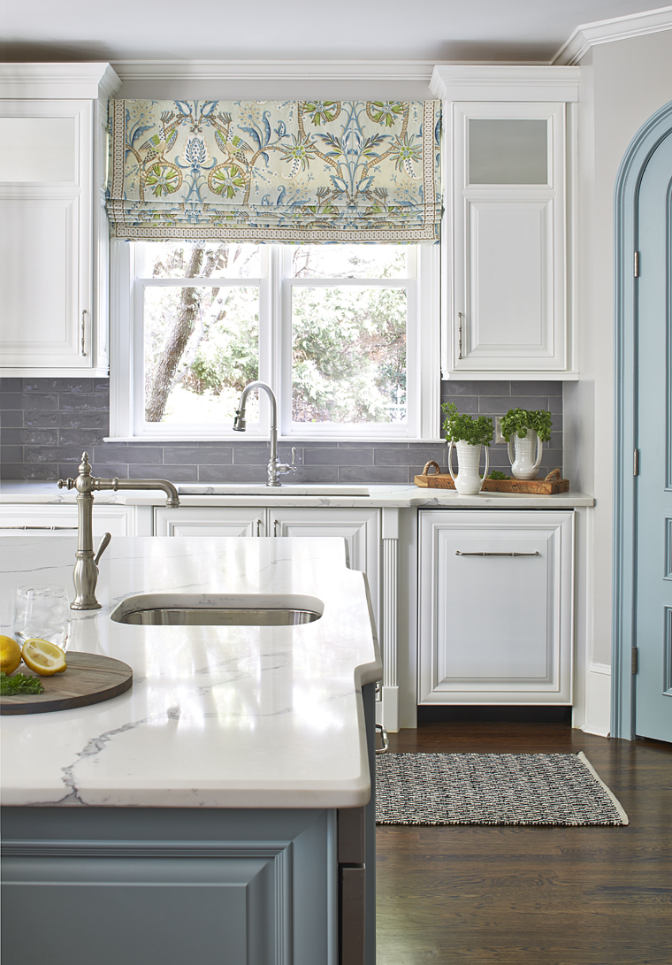 The Turquoise Chandelier By Currey U0026 Co. Is The Perfect Partner For The  Thibaut Panels. They Reused The Clients Kitchen Table And Chairs But  Brought The ...